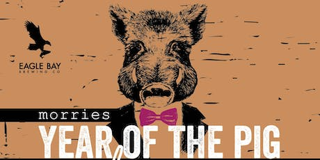Year of the Pig Dinner feat Eagle Bay Brewing co tickets