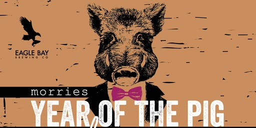 Year of the Pig Dinner feat Eagle Bay Brewing co