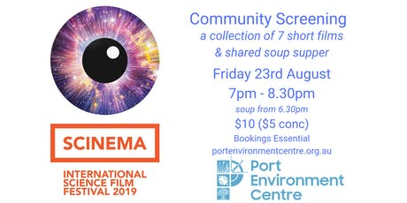 SCINEMA Science Film Festival Community Screening tickets