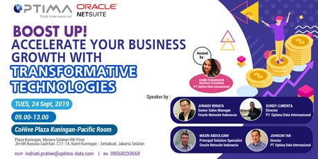 Accelerate Your Business Growth With Transformative Technologies tickets