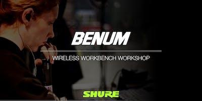 BENUM AB - Avancerad Träning - Arbeta seriöst med trådlösa mikrofonsystem