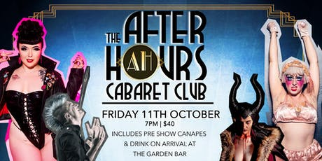 After Hours Cabaret Club LIVE at the George Hotel tickets