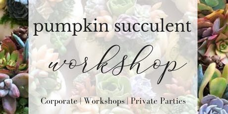 Pumpkin Succulents | Park Hyatt Aviara tickets