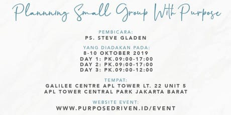 PD SMALL GROUP CONFERENCE 2019 tickets