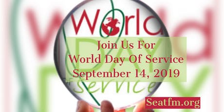 World Day of Service Award Ceremony And Reception tickets