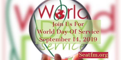 World Day of Service Award Ceremony And Reception