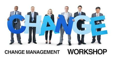 Change Management Classroom Training in Sherman-Denison, TX tickets