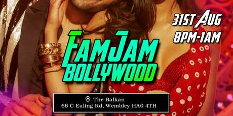 FAMJAM BOLLYWOOD FIESTA - North London - 31st August tickets