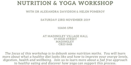 Nutrition and Yoga Workshop tickets