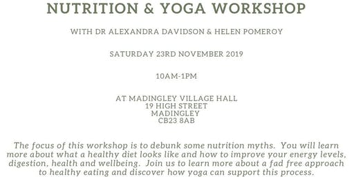 Nutrition and Yoga Workshop