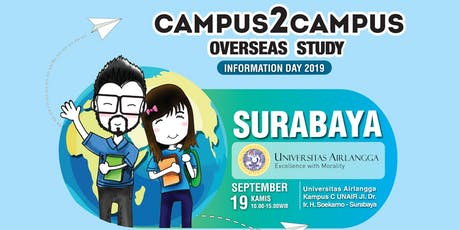 Campus2Campus Overseas Study - Information Day 2019 tickets