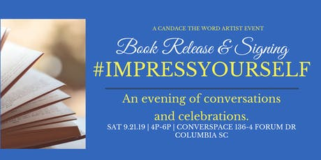 #ImpressYourself Book Release and Signing tickets