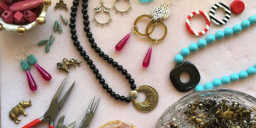 Spring Time Jewellery Class with Ruby from Frith St