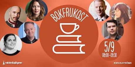 Bokfrukost - Rabén & Sjögren och B.Wahlströms tickets