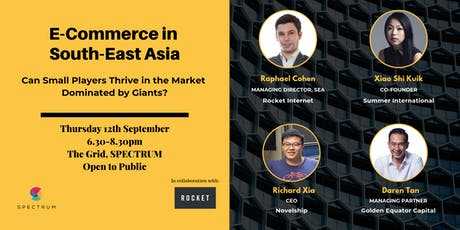 E-Commerce in South-East Asia tickets