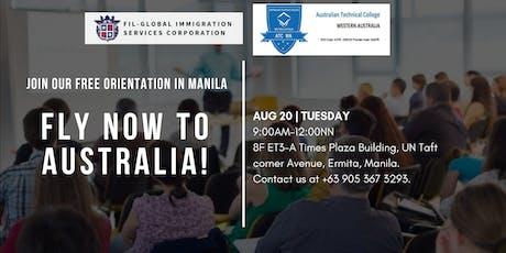 Australian Technical College, Western Australia - Free Immigration Event tickets
