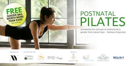 Postnatal Pilates (Introductory Class) tickets