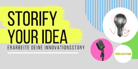 STORIFY YOUR IDEA Tickets