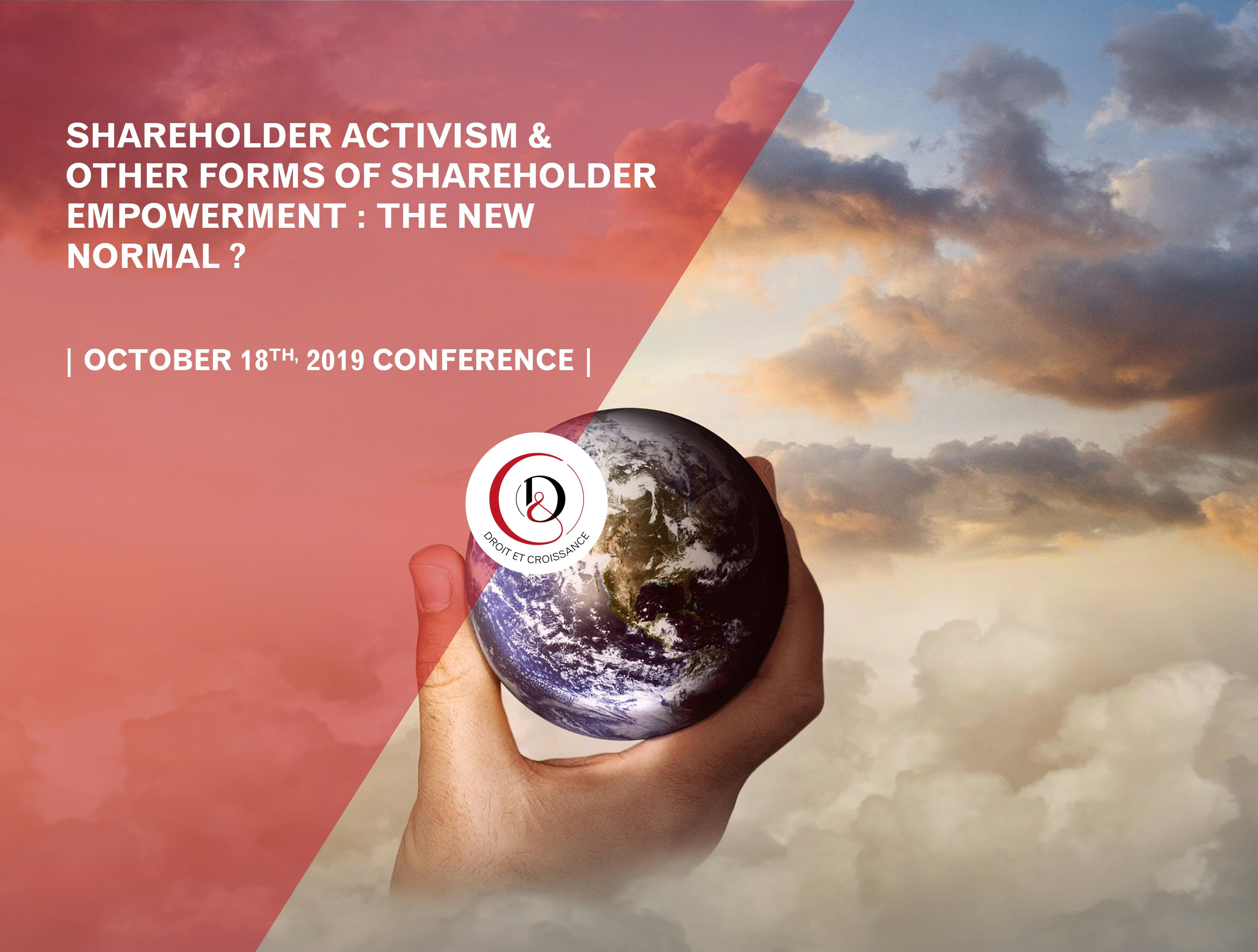 Corporate governance and shareholders engagement conference: the new normal