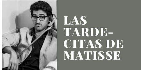 Las tarde-citas de Matisse - Albert Sanz invita a Gabriel Dalvit entradas