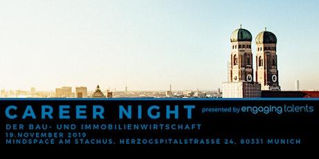 CAREER NIGHT der Bau- und Immobilienwirtschaft in München Tickets