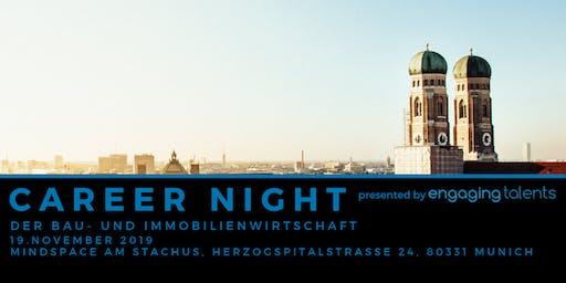CAREER NIGHT der Bau- und Immobilienwirtschaft in München