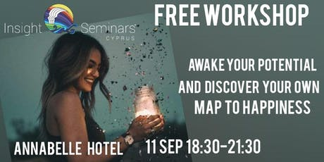 AWAKE YOUR POTENTIAL AND DISCOVER YOUR OWN MAP TO HAPPINESS tickets