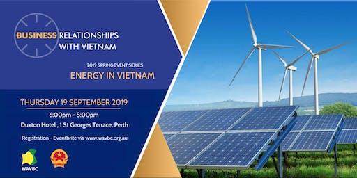 WAVBC 2019 Spring Series Event - Energy in Vietnam