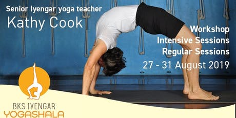 [August] Yoga Workshop | Intensive & Regular Sessions by Kathy Cook tickets