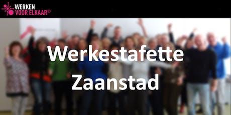 Werkestafette Zaanstad - informatiebijeenkomst maandag 26 augustus 2019 tickets