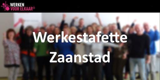 Werkestafette Zaanstad - informatiebijeenkomst maandag 26 augustus 2019