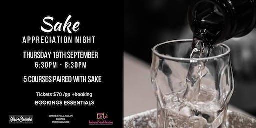Sake Appreciation Night