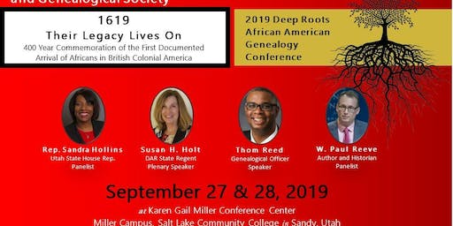 2019 Deep Roots African American Genealogy Conference