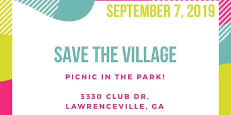 Save The Village (Picnic in the park) tickets