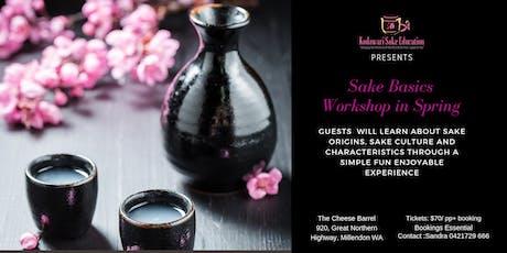 Sake Basic Workshop in Spring tickets