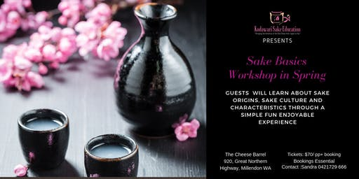 Sake Basic Workshop in Spring
