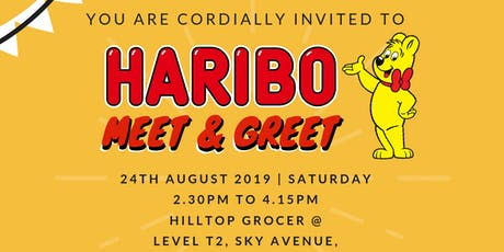 Haribo Meet & Greet @ Hilltop Grocer,Sky Avenue, Genting Highlands tickets