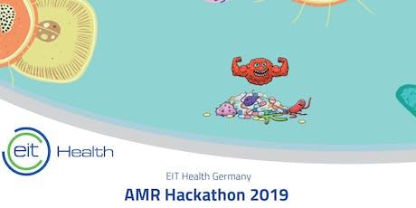 EIT Health AMR Hackathon 2019 billets