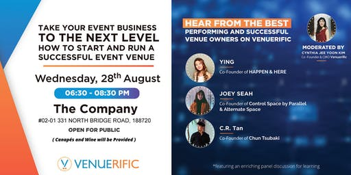 HOW TO START AND RUN A SUCCESSFUL EVENT VENUE