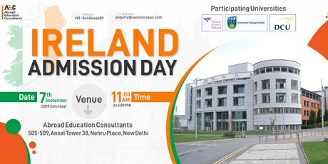 Ireland Admission Day - 7th September tickets