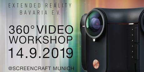 XRB 360° Video Workshop 14.09.2019 im Screencraft Campus Tickets
