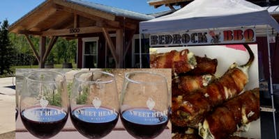 Wine Pairing featuring Bedrock BBQ