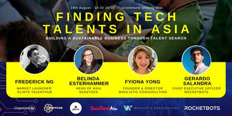 Finding Tech Talents in Asia tickets
