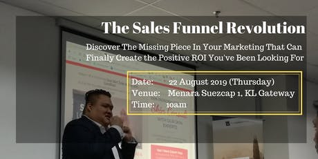 [Small Class Workshop] Discover The Sales Funnel Revolution Workshop tickets
