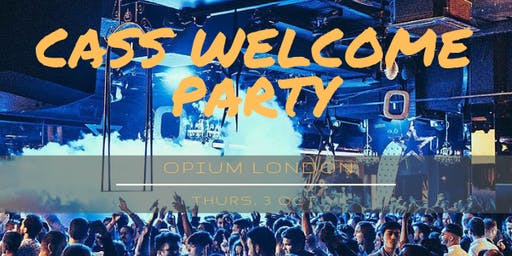 Cass Welcome Party 2019