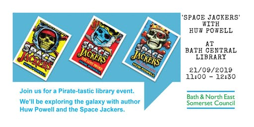 'Space Jackers' with Huw Powell at Bath Central Library