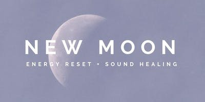 New Moon : Energy Reset + Sound Healing - ADELAIDE (August)