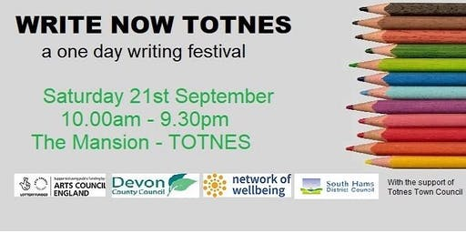 Write Now Totnes: Turning your ideas into stories - writing fiction