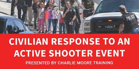 Civilian Response to an Active Shooter Event (CRASE) tickets