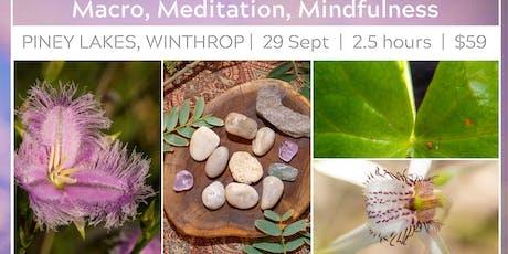 Photo Workshop: Macro, Meditation and Mindfulness tickets